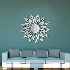 Revesun Sliver New Wall Art 18 Pieces DIY Sliver S